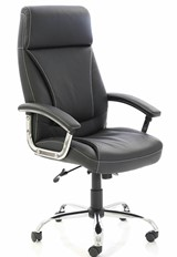 Penza Executive Leather Chair - Black