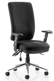 Chiro Operator Chair - Black