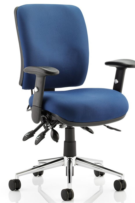 Hercules Medium Back Heavy Duty Operator Chair