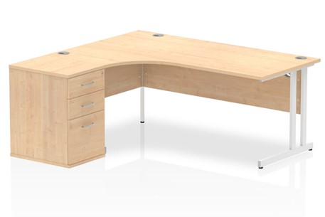 Solar Maple Cantilever Workstation