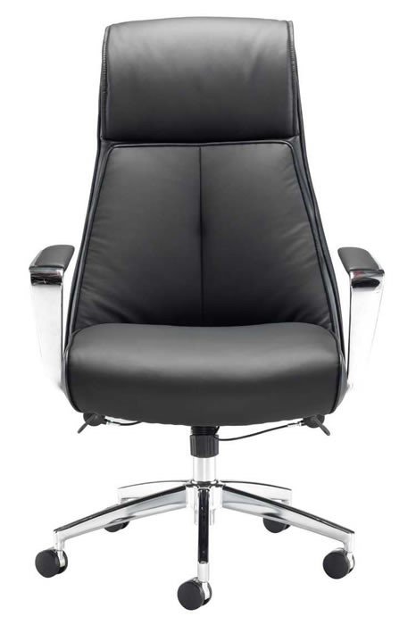 Bariatric Leather Office Chair Lumbar Support Zeus