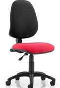 Mode Operator Chair - Cherry Red No Arms