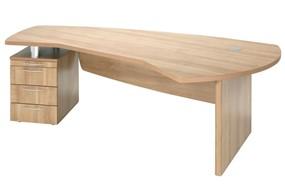 E Space Executive 3 Drawer Desk