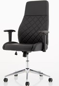 Luca Medium Back Leather Office Chair