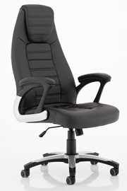 Metropolis High Back Leather Chair