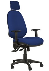 Ergo Posture High Back Office Chair - Dark Blue