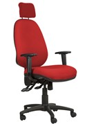 Ergo Posture High Back Office Chair - Red