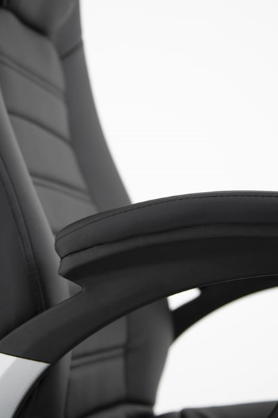 Metropolis High Back Bariatric Leather Chair