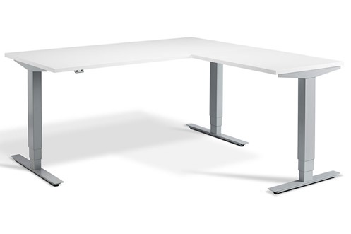 Advance Corner Height Adjustable Desk