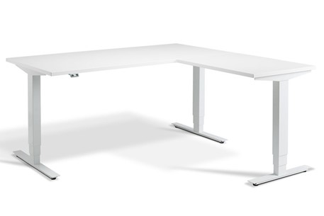 Advance Corner Height Adjustable Desk