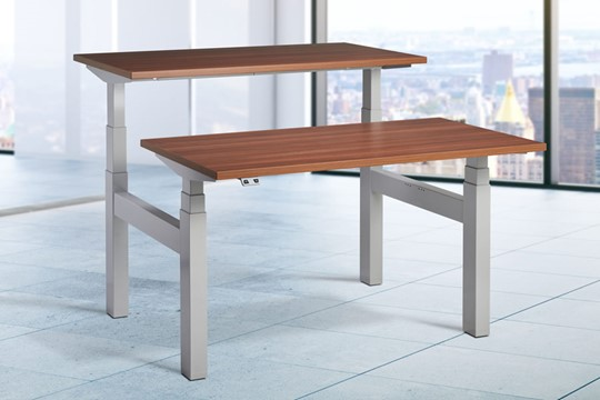 Duo Two Person Height Adjustable Desk