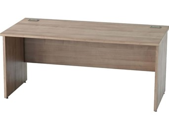 Thames Birch Rectangular Panel Leg Desk - 800mm x 800mm