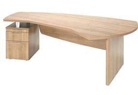 E Space Executive 2 Drawer Desk