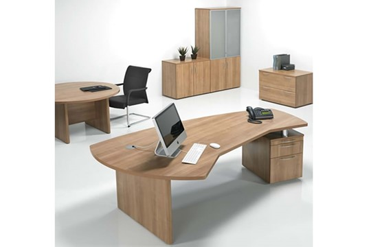 E Space Executive 3 Drawer Desk
