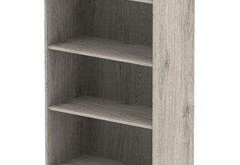 Gladstone Grey Oak 2000 Office Bookcase
