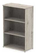 Gladstone Grey Oak 1200 Office Bookcase
