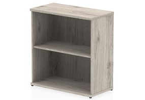 Gladstone Grey Oak 800 Office Bookcase