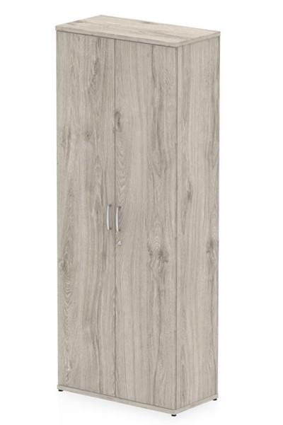 Gladstone Grey Oak Tall Office Cupboard
