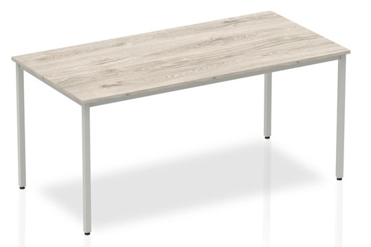 Gladstone Grey Oak Straight Table Box Frame Leg