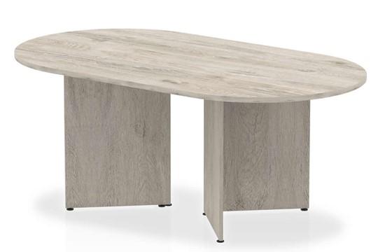 Gladstone Grey Oak 1800mm Boardroom Table