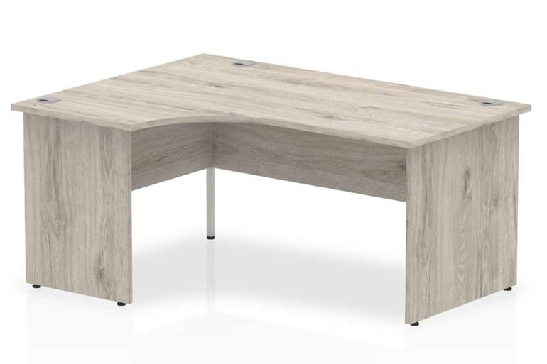 Gladstone Grey Oak Panel End Corner Desk