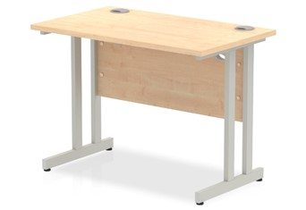 Solar Maple Small Cantilever Desk