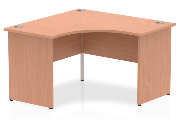 Price Point Beech Corner Desk