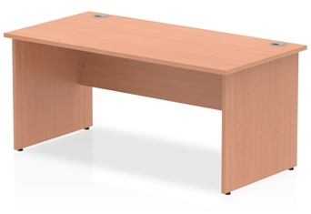 Price Point Rectangular Beech Panel End Desk - 1200mm x 600mm