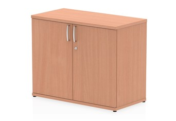 Price Point Beech Office Cupboard