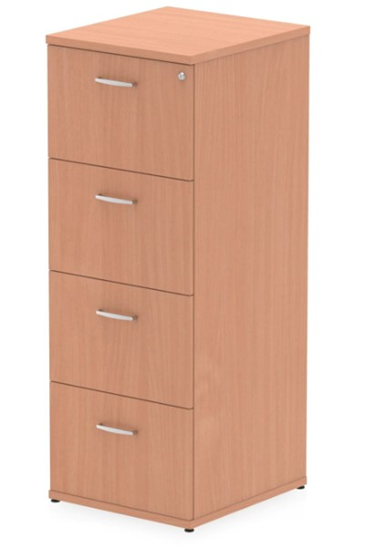 Price Point 4 Drawer Beech Filing Cabinet
