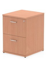 Price Point 2 Drawer Beech Filing Cabinet