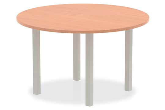 Price Point Beech 1200mm Round Meeting Table