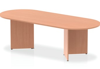 Price Point Beech 2400 Boardroom Table Panel Leg