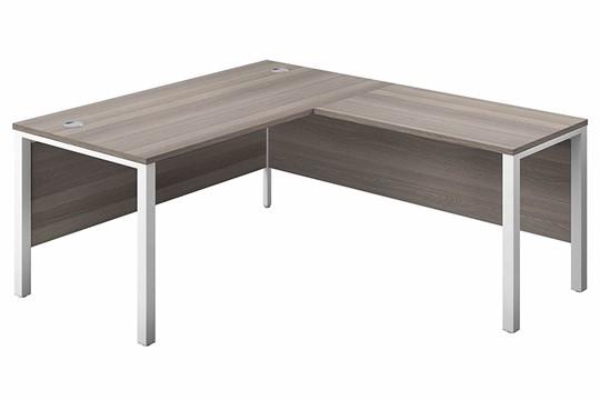 Kestral Grey Oak Corner Bench Desk