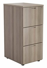 Kestral Grey Oak 3 Drawer Filing Cabinet