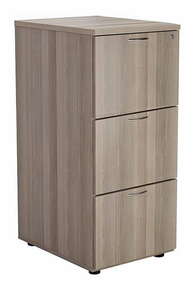 Kestral Grey Oak 3 Drawer Filing Cabinet