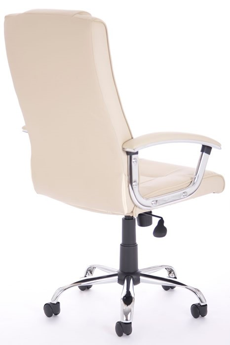 Leather Manager Office Chair High Backed Lumbar