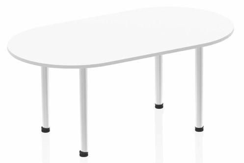 Polar White 1800mm Boardroom Table