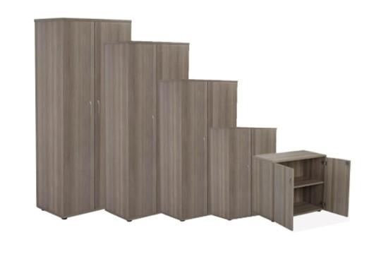 Kestral Grey Oak Cupboards