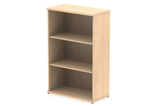 Solar Maple 1200mm Office Bookcase