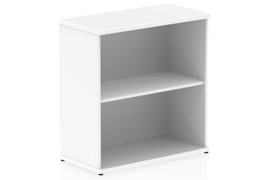 Polar White 800mm Office Bookcase