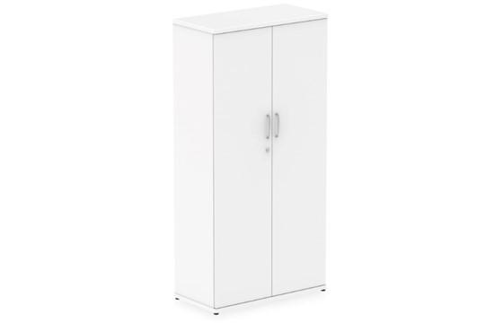 Polar White Tall Office Cupboard