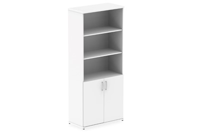 Polar White Open Shelf Cupboard