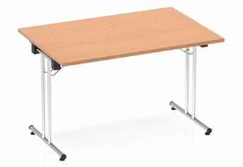 Norton Oak Rectangular Folding Table - 1200mm Wide