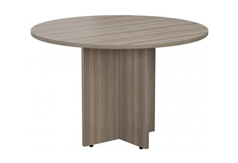 Kestral Grey Oak Round Meeting Table