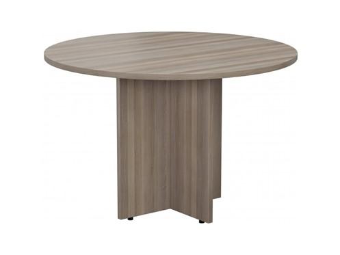 Kestral Grey Oak Round Meeting Table