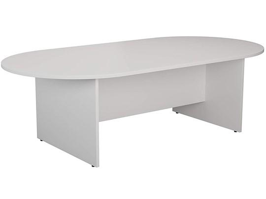 Kestral White D End Boardroom Table