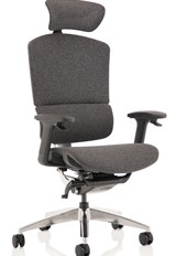 Ergo Click Plus Fabric Office Chair - Grey