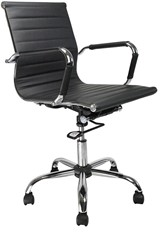 Aura Contemporary Task Chair - Black