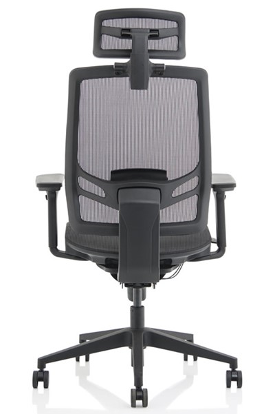 Ergo Twist Fabric Seat With Headrest